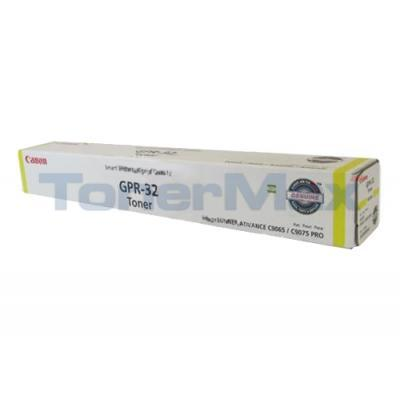 CANON ADVANCE C9075 PRO GPR-32 TONER YELLOW